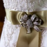 Beautiful brooches to spice up your Wedding Gown