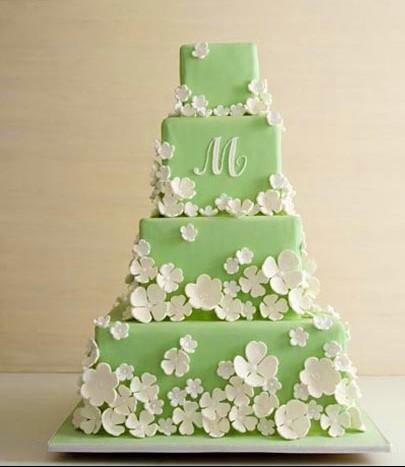 Astoundingly Beautiful Wedding Cakes from the Cake Girls