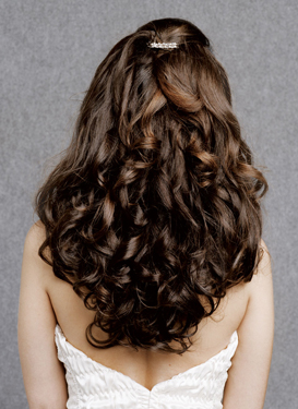 Curly Wedding Hairstyles Long Hair
