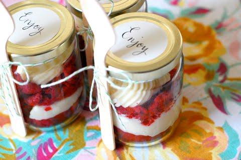 Wedding Dessert… in a Jar!