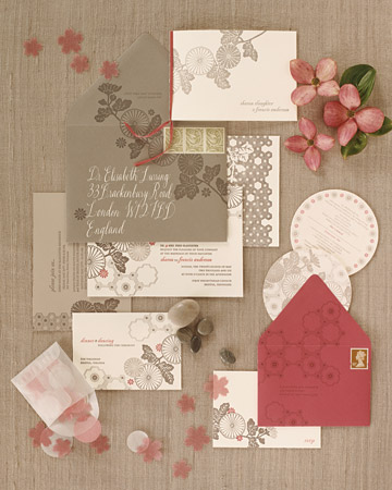 Wedding invitation inspiration chewing the cud via style me pretty stopboris Image collections