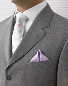 The Art of Folding a Pocket Square