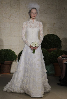 Fall 2010 Wedding Fashion: Gowns with Sleeves