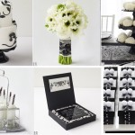 Black & White: Hot Color Combo