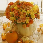 Using Pumpkins for Fall Centerpieces