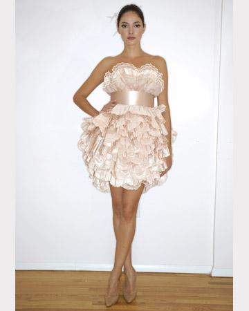 Bridal Fashion 2011: Short and Sassy!