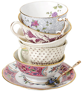 teacups Vintage Chic Wedding