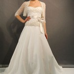 Winter Wedding Gowns with Cover-up's