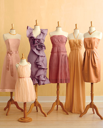 Candy Colors for Summer Weddings