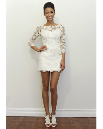 Short Wedding Dresses for Summer 2011