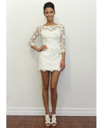 Short Wedding Dresses for Summer 2011