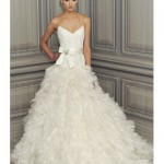 Brides of a Feather: 2012 Wedding Gowns with Plumage