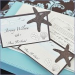 Starfish Plantable Seed Wedding Place Cards