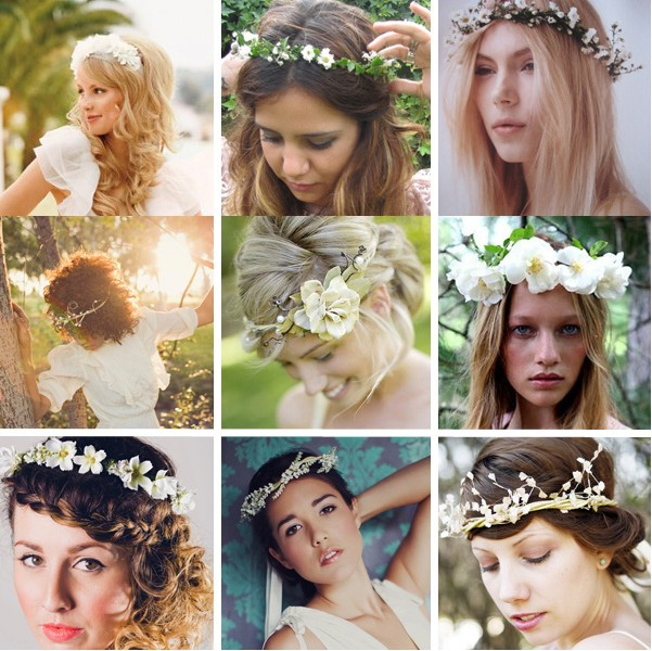 Bridal Crown: Wreathed in Flowers