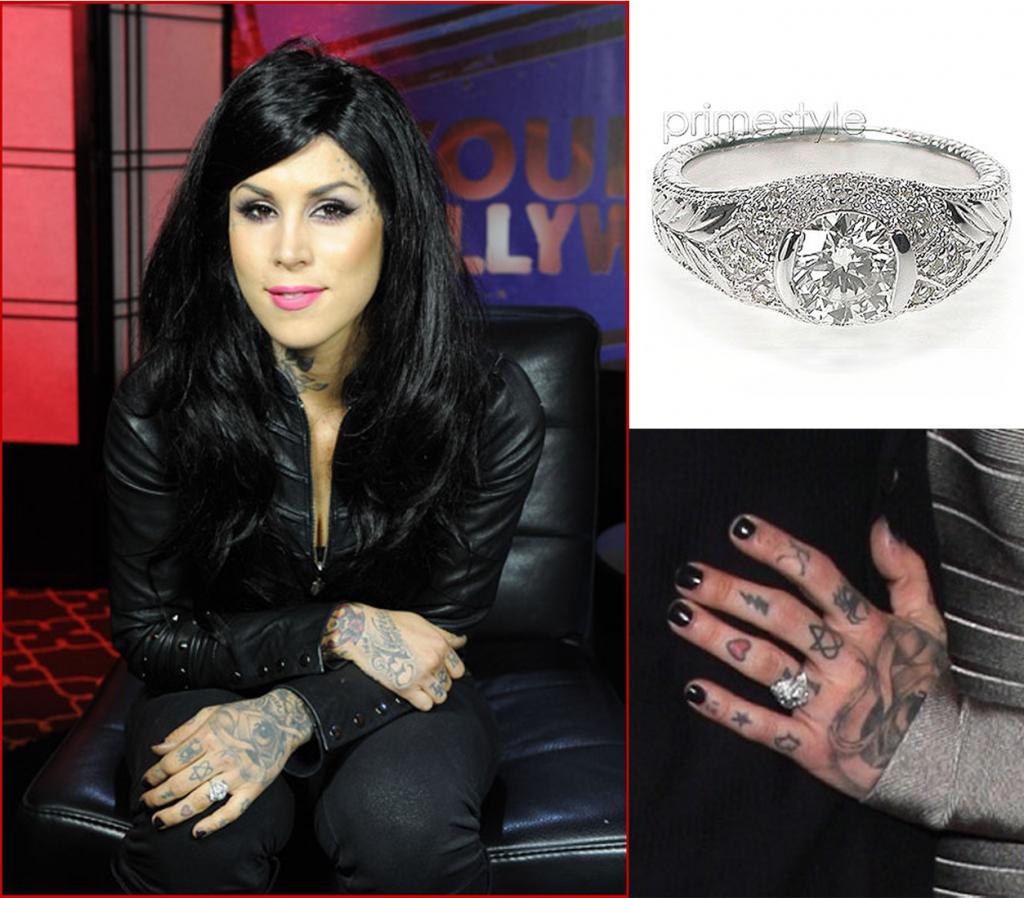 Kat Von D's ring