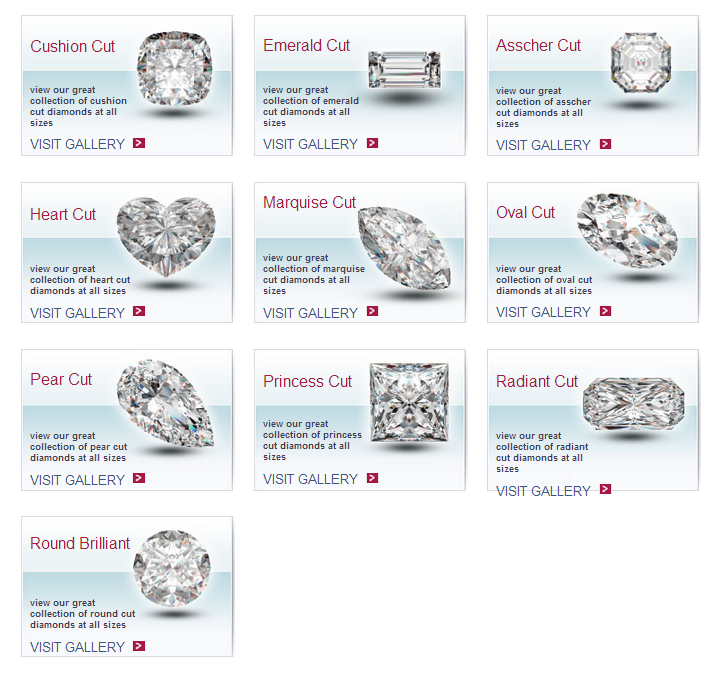 PrimeStyle.com Diamond Cuts