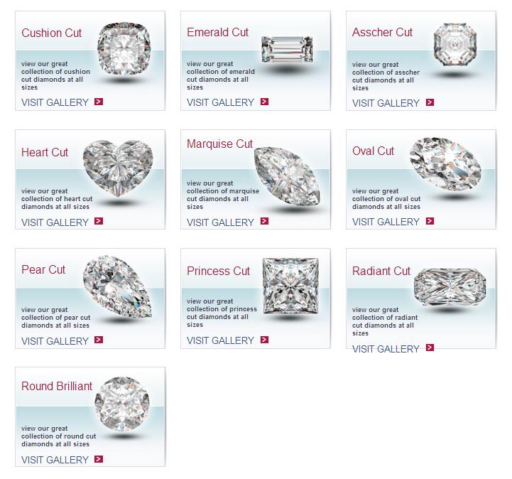 PrimeStyle.com Diamond Cuts