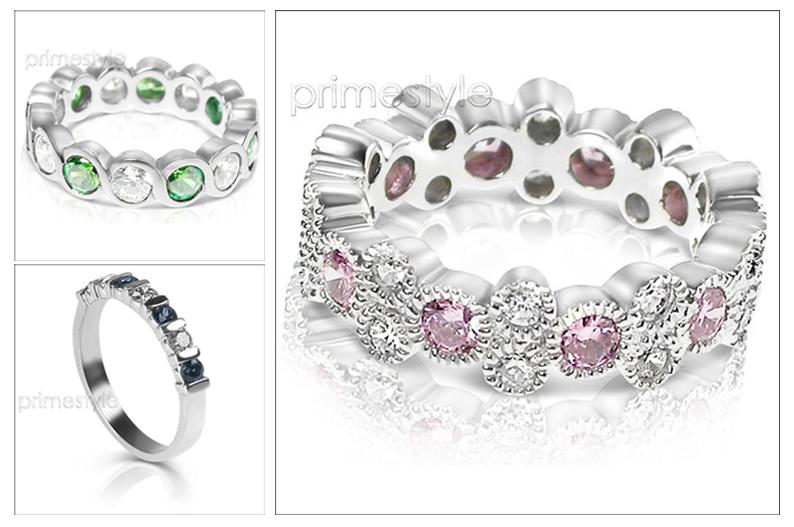 PrimeStyle.com gemstone rings