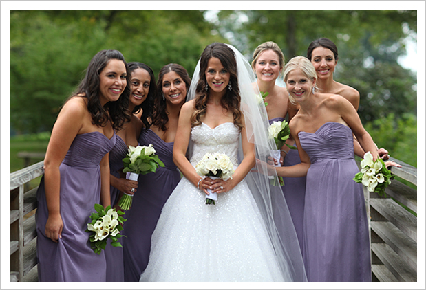 Bride vs. Bridal Party: How Coordinated Should They Be?