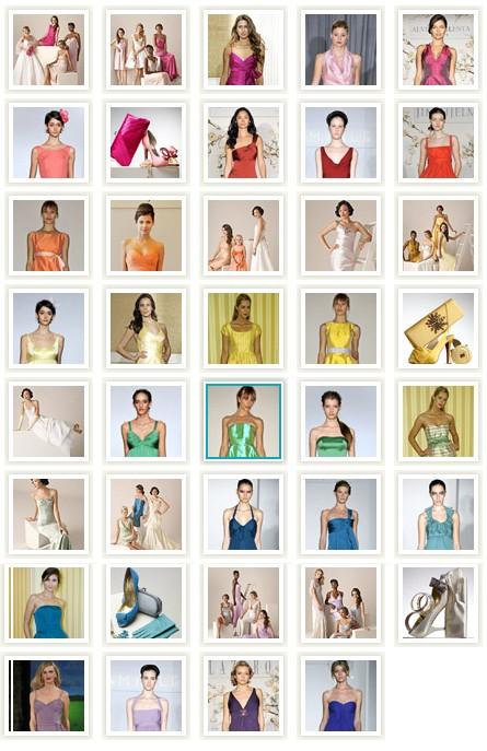 Colorful Summer Bridesmaids