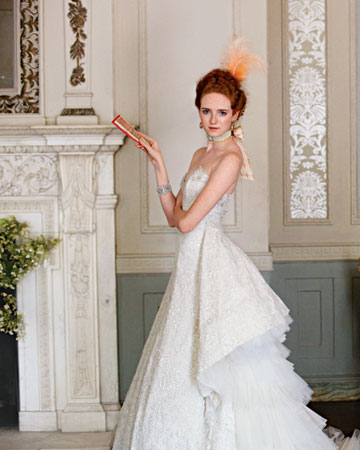 Wedding Dress Inspiration from Past Era's