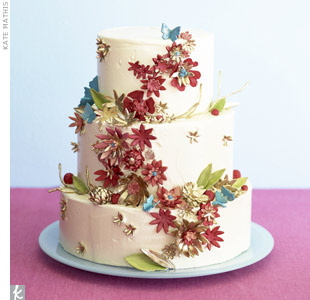 Flower-Decked Wedding Cakes for Spring