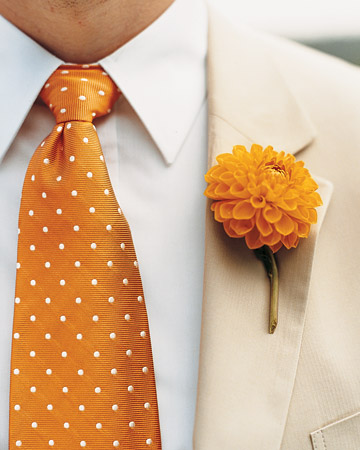 Distinctive Boutonnieres for the Boys!